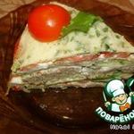 Закусочный торт «Многослойный»