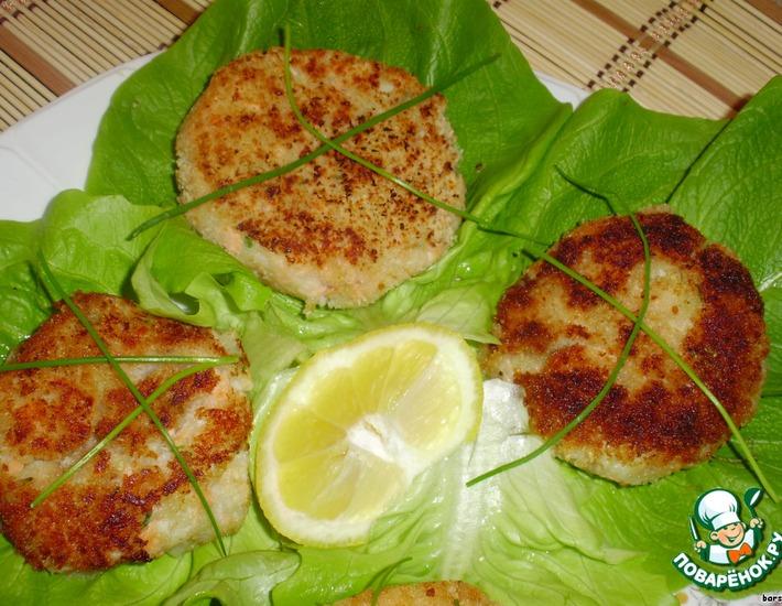 Рецепт: Рыбно-картофельные котлеты по-немецки