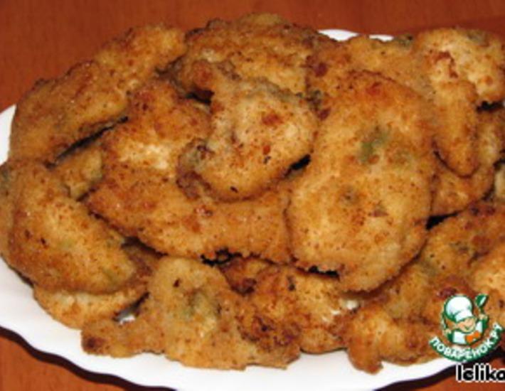 Рецепт: Куриные палочки