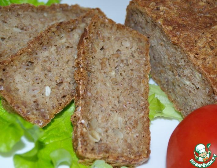 Рецепт: Немецкий зерновой хлеб
