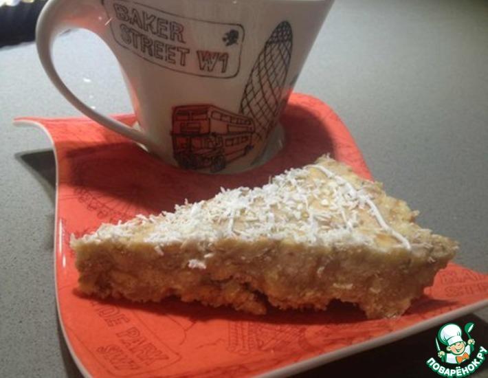 Рецепт: Торт без выпечки Муравейник из Германии