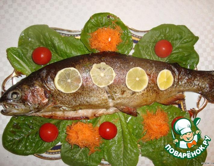 Рецепт: Форель Лемонато
