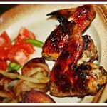 Куриные крылышки по-гречески