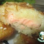 Рыба в картофельно-яблочной корочке