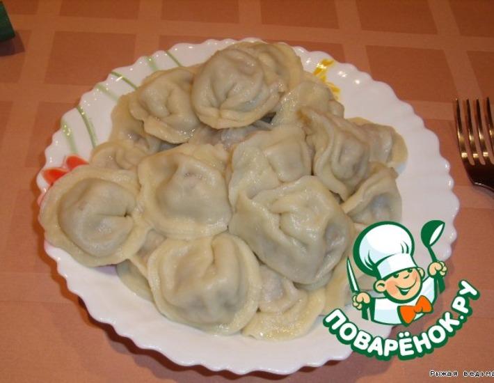 Рецепт: Уральские пельмени