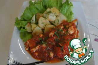 Рецепт: Курица по-итальянски Каччиаторе