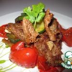 Мясное блюдо уйгурской кухни Тархамяк сяй