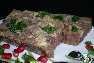 Рецепт: Террин из говяжей печени