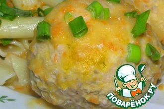 Рецепт: Рыбные тефтели в фасолевом соусе