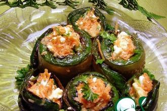 Рецепт: Овощные роллы На зубок
