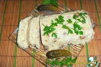 Рецепт: Куриный паштет с грибами