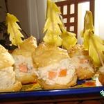Закуска Новогодняя деревня