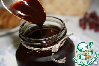 Рецепт: Домашний шоколадный сироп