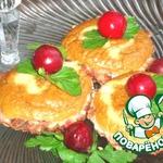 Мясные пирожные с кремом-паштетом