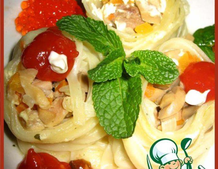 Рецепт: Салангани Ужин с итальянцем-2