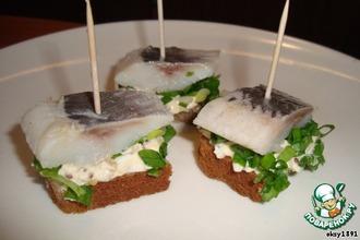 Рецепт: Сэндвич с яичным дипом