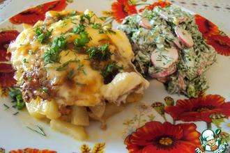 """Рецепт: Картошка """"под одеялом"""""""