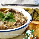 Croute a la viande-Крут с мясом