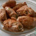 Куриные роллы на азиатский манер