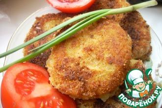 Рецепт: Картофельные биточки со шпротами