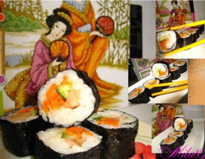 Рецепт: Суши по-корейски или Кимпаб