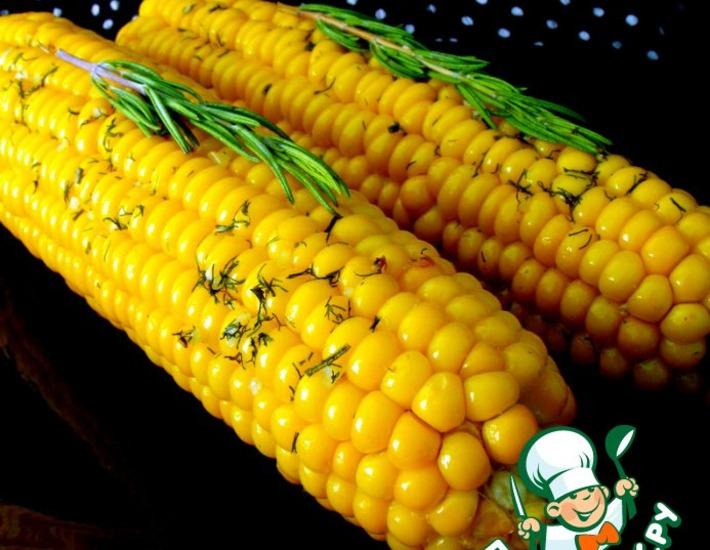 Рецепт: Кукуруза в ароматическом масле