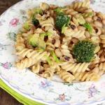 Паста с фасолью и брокколи