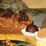 Творожно-манное пирожное