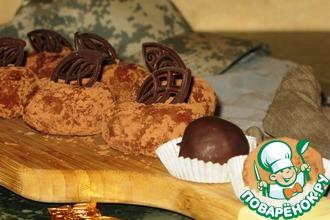Рецепт: Творожно-манное пирожное