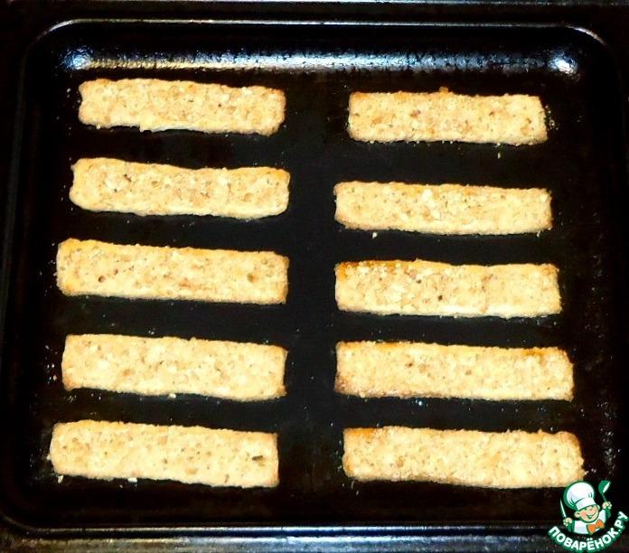 Творожные палочки с орешками