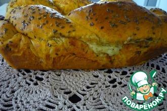 Рецепт: Томатный хлеб Вертунчик с сыром