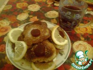 Рецепт Бананово-лимонные оладушки на воде