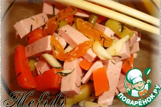 Рецепт: Салат для палок