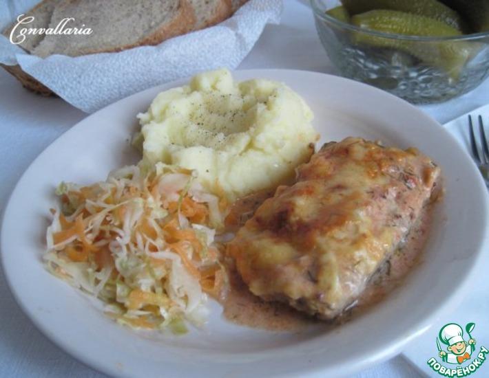 """Консервы из скумбрии в соусе """"Рассольник"""" – кулинарный рецепт"""