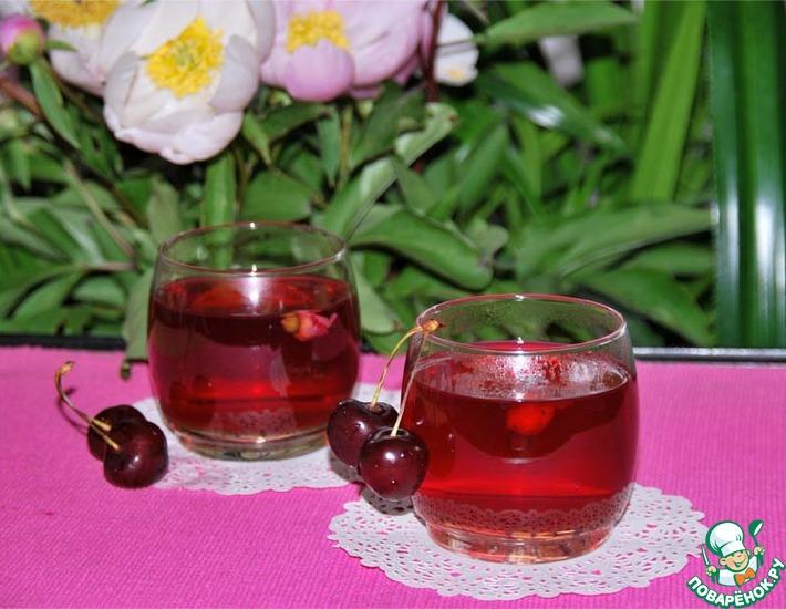 Рецепт: Напиток Вишнёвый сад