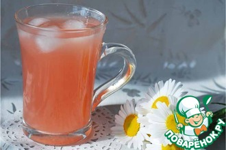 Рецепт: Напиток из грейпфрута