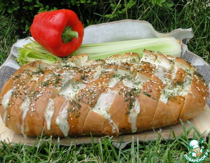 Рецепт: Начиненный хлеб