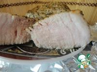 Свиная вырезка с розмарином ингредиенты