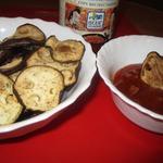 Баклажановые чипсы