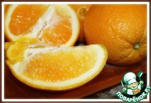 1. В кувшине выжaть сок 4 апельсинов.