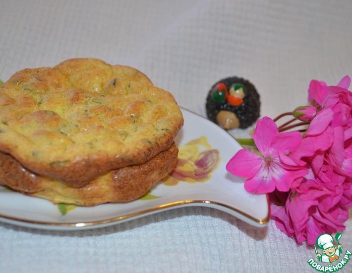 Рецепт: Суфле из цуккини с рикоттой