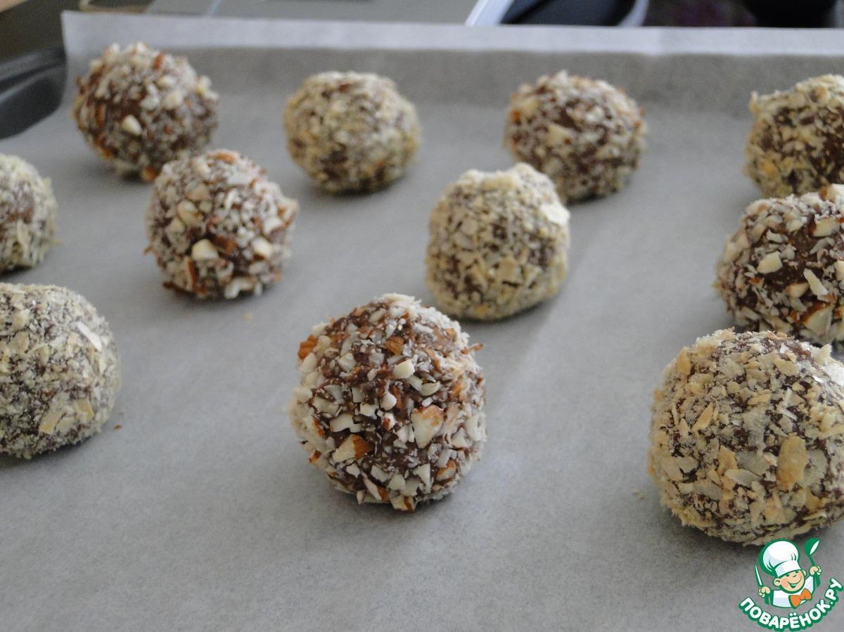 Шоколадные трюфели из картофельного пюре