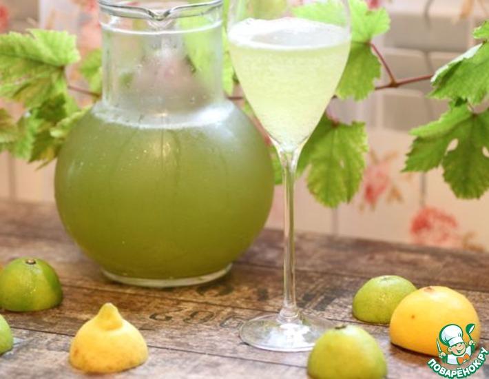Рецепт: Освежающий и полезный домашний лимонад Тархун
