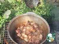 Ферганский плов с барбарисом и хлопковым маслом ингредиенты