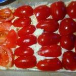 Салат Шапочка красного цвета