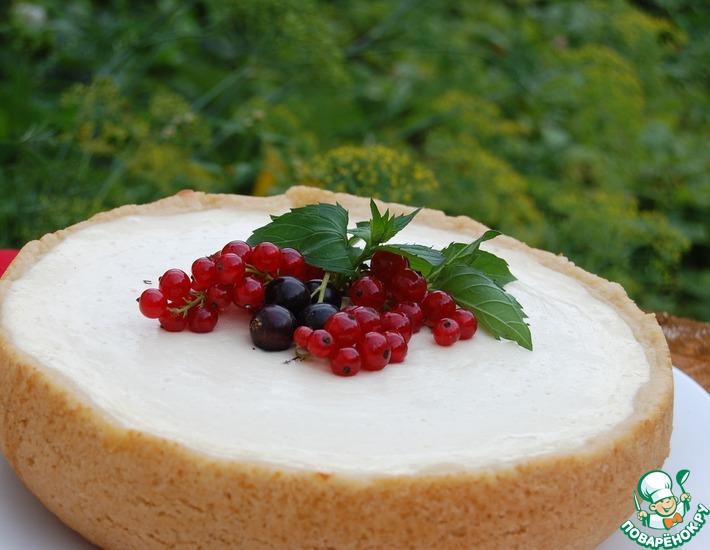 Рецепт: Финский творожный пирог в мультиварке