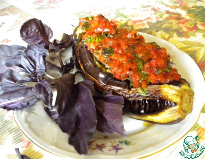 Рецепт: Фаршированные баклажаны по-армянски