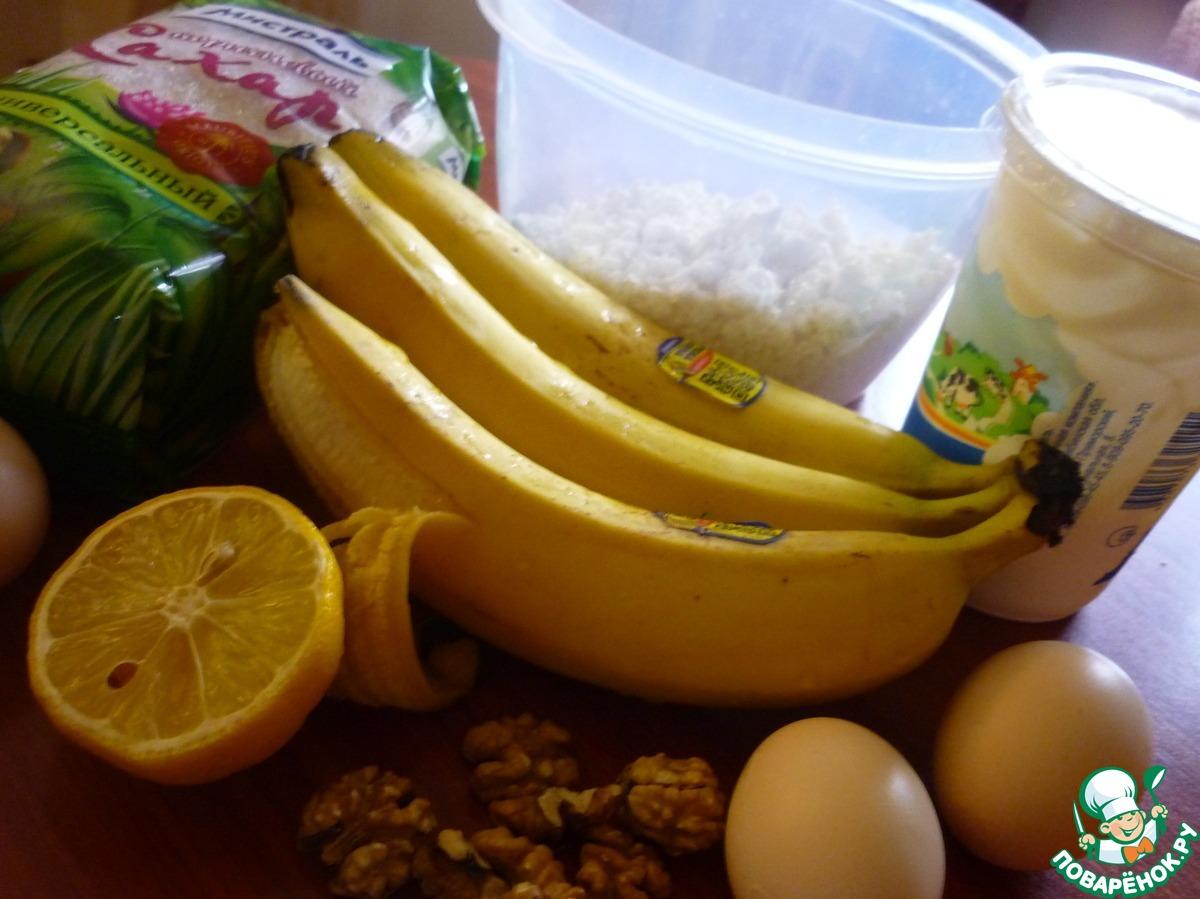 Чизкейк банановый