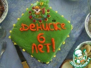 Рецепт Бисквитный тортик
