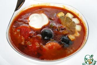 Солянка по-мегрельски – кулинарный рецепт